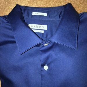 Van Heusen Men's Wrinkle Free Dress Shirt 18 34/35